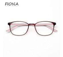 韓国軽量tr90素材度付きレンズ度入り伊達メガネフレームめがねエレガント伊達眼鏡フルリムメガネ男女ペアおしゃれファッションめがね大きいフレーム可愛いピンク