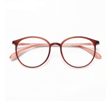 セルフレーム軽量メガネtr90クラシカル丸メガネ男女おしゃれ度入りレンズ伊達メガネ眼鏡フレーム丸いラウンド型すっぴんコーデ度なしレンズ個性的バイカラー可愛いめがねピンク色